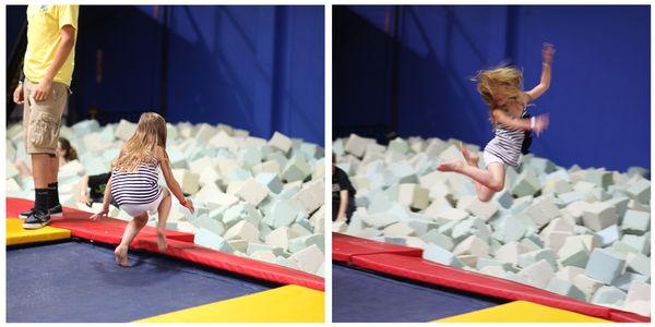 Syd jumping